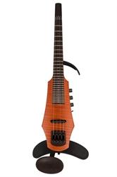 Obrázek pro výrobce Elektrické housle NS Design CR 4 Amber - pražcovaný hmatník