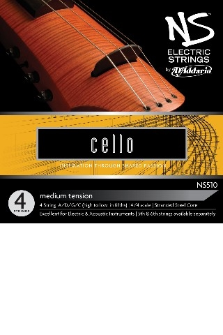 Picture of NS510 STRING SET FOR ELECTRIC CELLO