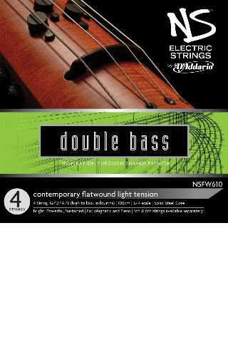 Picture of NSFW610 CONTEMPORARY STRING SET FOR ELECTRIC DOUBLE BASS