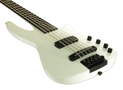 Obrázek pro výrobce Elektrická baskytara WAV4 Radius bílá metalíza lesk