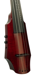 Picture of Electric Cello NS Design WAV4c Transparent Red (Coform)