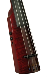 Picture of Electric Double Bass NS Design WAV4c Trans Red (Coform)